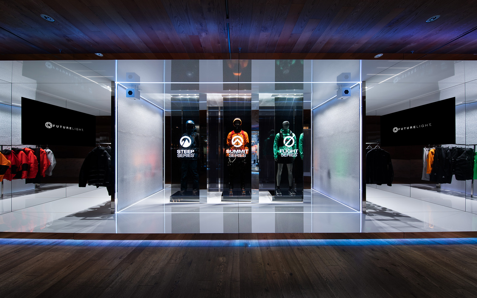 THE NORTH FACE FUTURELIGHT EXHIBITION